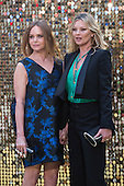 London, UK. 29 June 2016. Stella McCartney and Kate Moss. World premiere of Absolutely Fabulous - the Movie in London's Leicester Square.
