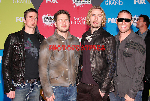 Nickelback..at the 2006 Billboard Music Awards in Las Vegas, December 4th 2006...Photo by Chris Walter/Photofeatures