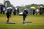 Greensmen. McKayson NZ Women's Golf Open, Round Four, Windross Farm Golf Course, Manukau, Auckland, New Zealand, Sunday 1st October 2017.  Photo: Simon Watts/www.bwmedia.co.nz