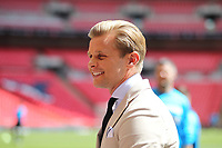 Jeff Brazier during the Vanarama National League Playoff Final between AFC Fylde & Salford City at Wembley Stadium, London, England on 11 May 2019. Photo by James  Gil.