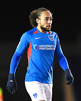 Marcus Harness of Portsmouth during Portsmouth vs Exeter City, Leasing.com Trophy Football at Fratton Park on 18th February 2020