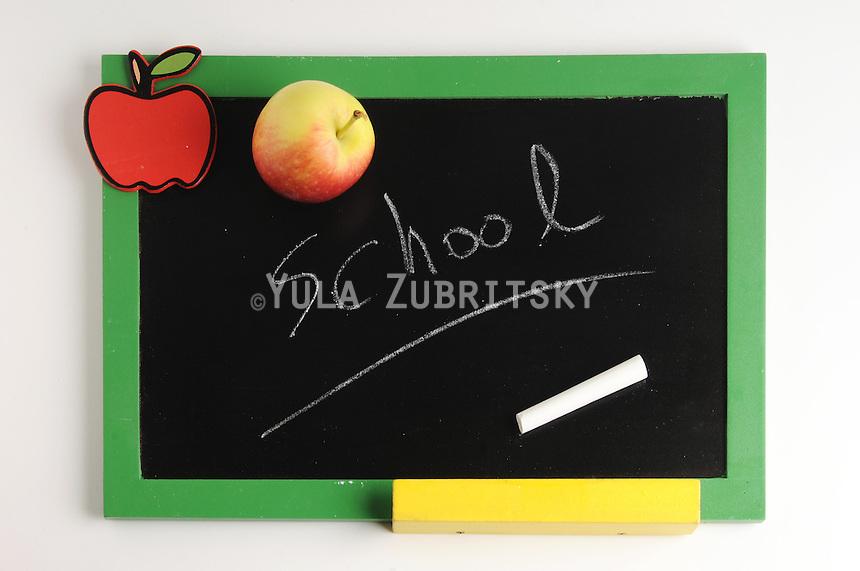 Back to School, school, apple,board