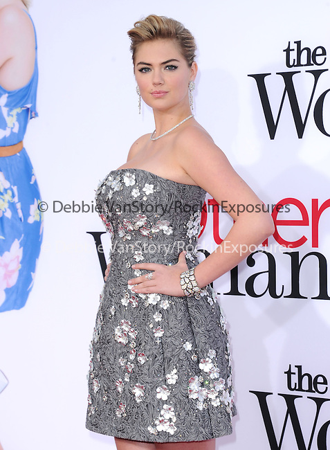 Kate Upton attends The Twentieth Century Fox L.A. Premiere of Th eOther Woman held at The Regency Village Westwood in Westwood, California on April 21,2014                                                                               © 2014 Hollywood Press Agency