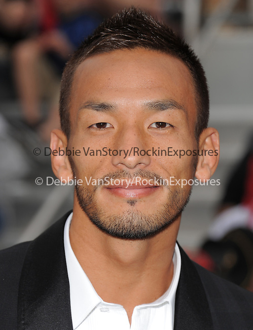 Hidetoshi Nakata at Walt Disney Pictures Premiere of Pirates of the Caribbean : On Stranger Tides held at Disneyland in Anaheim, California on May 07,2011                                                                               © 2010 Hollywood Press Agency