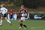 05 December 2008: Stanford's Kelley O'Hara. The Notre Dame Fighting Irish defeated the Stanford Cardinal 1-0 at WakeMed Soccer Park in Cary, NC in an NCAA Division I Women's College Cup semifinal game.