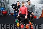 Shane Finn, Shane Guthrie and Denis McElligott getting ready for January as they come together about fitness and new year resolutions