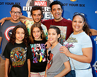 LOS ANGELES - JUL 8:  Gilles Marini, son, daughter, guests at the Marvel Universe Live Red Carpet at the Staples Center on July 8, 2017 in Los Angeles, CA