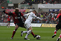 Pictured: Mark Gower of Swansea City in action <br /> Picture by D Legakis Photography / Athena Picture Agency, Swansea, 07815441513