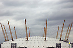 The Millennium Dome in Greenwich, London UK