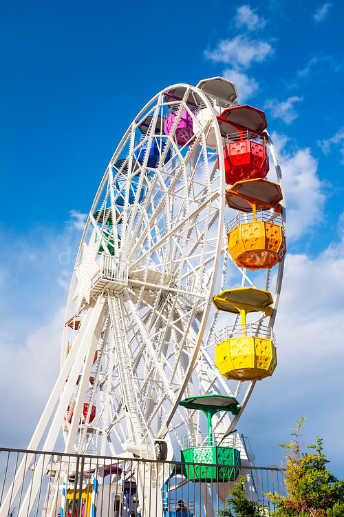 Ferris wheel at amusement park, Tibidabo, Barcelona