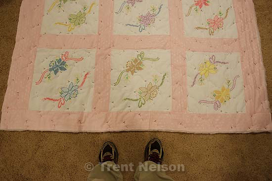 Westcliffe - . Monday, July 28, 2008. trent feet, quilt