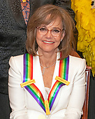 Actress Sally Field, one of the recipients of the 42nd Annual Kennedy Center Honors poses as part of a group photo following a dinner at the United States Department of State in Washington, D.C. on Saturday, December 7, 2019.  The 2019 honorees are: Earth, Wind & Fire, Sally Field, Linda Ronstadt, Sesame Street, and Michael Tilson Thomas.<br /> Credit: Ron Sachs / Pool via CNP