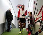 Cameron Carter-Vickers of Sheffield Utd in from war up during the Championship match at Bramall Lane Stadium, Sheffield. Picture date 26th December 2017. Picture credit should read: Simon Bellis/Sportimage