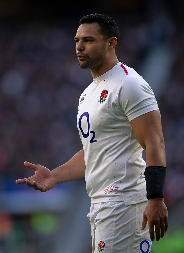 England's Ben Te'o<br /> <br /> Photographer Bob Bradford/CameraSport<br /> <br /> Quilter Internationals - England v South Africa - Saturday 3rd November 2018 - Twickenham Stadium - London<br /> <br /> World Copyright © 2018 CameraSport. All rights reserved. 43 Linden Ave. Countesthorpe. Leicester. England. LE8 5PG - Tel: +44 (0) 116 277 4147 - admin@camerasport.com - www.camerasport.com