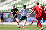 Milot Rashica (Werder Bremen #07), Vorereitung zum 5:0<br /> <br /> <br /> Sport: nphgm001: Fussball: 1. Bundesliga: Saison 19/20: 34. Spieltag: SV Werder Bremen vs 1.FC Koeln  27.06.2020<br /> <br /> Foto: gumzmedia/nordphoto/POOL <br /> <br /> DFL regulations prohibit any use of photographs as image sequences and/or quasi-video.<br /> EDITORIAL USE ONLY<br /> National and international News-Agencies OUT.