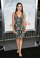 Alix Angelis at the premiere for &quot;Geostorm&quot; at TCL Chinese Theatre, Hollywood. Los Angeles, USA 16 October  2017<br /> Picture: Paul Smith/Featureflash/SilverHub 0208 004 5359 sales@silverhubmedia.com