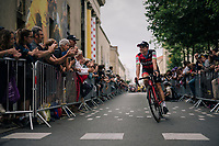 Simon Gerrans (AUS/BMC) at the Team presentation in La Roche-sur-Yon<br /> <br /> Le Grand D&eacute;part 2018<br /> 105th Tour de France 2018<br /> &copy;kramon