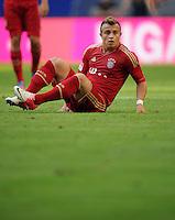 FUSSBALL   1. BUNDESLIGA   SAISON 2012/2013   LIGA TOTAL CUP  FC Bayern Muenchen - SV Werder Bremen       04.08.2012 Xherdan Shaqiri (FC Bayern Muenchen)
