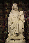 Israel, Jerusalem Old City, a statue of Mary And Her Mother at the Church of st. Anne.