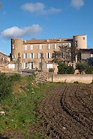 Chateau Villerambert-Julien near Caunes-Minervois. Minervois. Languedoc. France. Europe.
