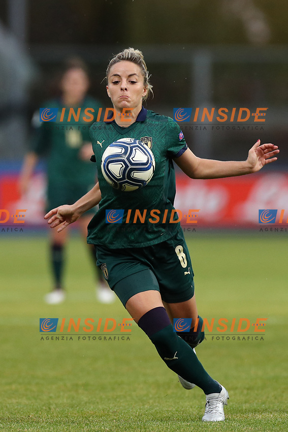 Martina Rosucci of Italy in action<br /> Castel di Sangro 12-11-2019 Stadio Teofolo Patini <br /> Football UEFA Women's EURO 2021 <br /> Qualifying round - Group B <br /> Italy - Malta<br /> Photo Cesare Purini / Insidefoto