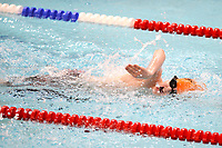 Picture by Richard Blaxall/SWpix.com - 14/04/2018 - Swimming - EFDS National Junior Para Swimming Champs - The Quays, Southampton, England - Cameron Connelly of Putteridge during the Men's Open 100m Freestyle