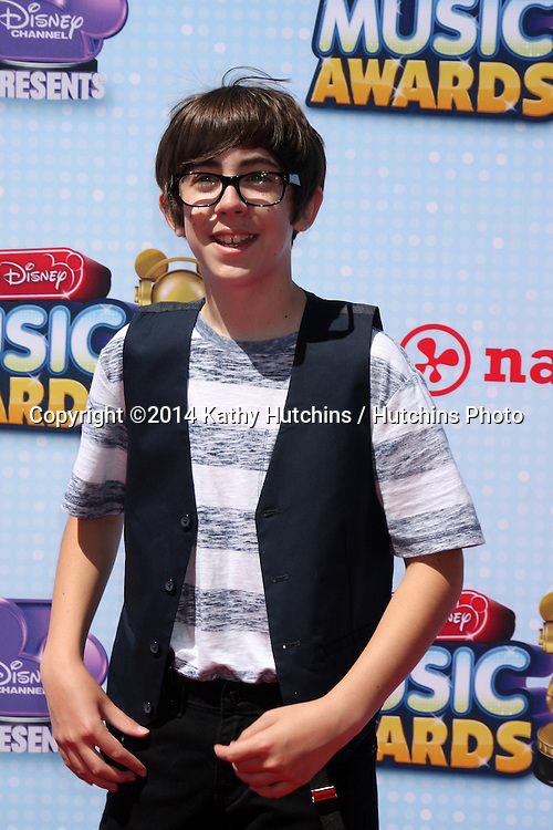 LOS ANGELES - APR 26:  Augie Isaac at the 2014 Radio Disney Music Awards at Nokia Theater on April 26, 2014 in Los Angeles, CA