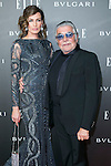 Nieves Alvarez and Roberto Caballi attend the Photocall of the ELLE STYLE AWARDS at Italian Embassy in Madrid, Spain. March 17, 2014. (ALTERPHOTOS/Carlos Dafonte)