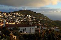 Valverde,capital of  El Hierro,Canary Islands, Spain.