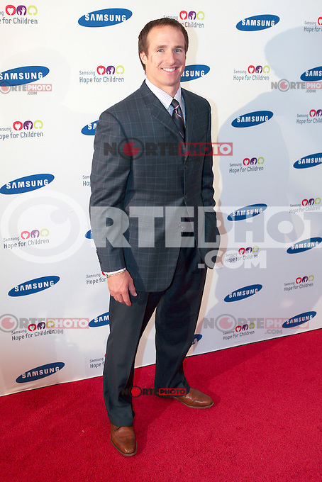 Drew Brees at the Samsung Hope for Children 11th Annual Gala at the Museum of Natural History in New York City. June 4, 2012. © Diego Corredor/MediaPunch Inc. ***NO GERMANY***NO AUSTRIA***