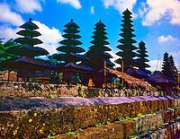Pura Taman Ayun Temple, Temple of Former Ruling Mengi Family, Island of Bali, Indonesia