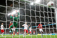 Zlatan Ibrahimovic of Manchester United scores the winning goal <br /> Londra Wembley Stadium Southampton vs Manchester United - EFL League Cup Finale - 26/02/2017 <br /> Foto Phcimages/Panoramic/Insidefoto