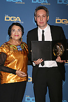 LOS ANGELES - FEB 2:  Dolores Huerta, Tim Wardle at the 2019 Directors Guild of America Awards at the Dolby Ballroom on February 2, 2019 in Los Angeles, CA