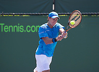 ALEJANDRO GONZALEZ  (COL)<br /> Tennis - Sony Open - ATP-WTA -  Miami -  2014  - USA  -  21 March 2014. <br /> &copy; AMN IMAGES