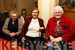 Joan Kennelly and Kathleen Brosnan from Lyracrompane with Eileen Sheehy from Renagown enjoying the Sliabh Luachra Active Retired NetworkTea Dance in the River Island Hotel in Castleisland on Sunday