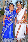 INTERCULTURAL: Ashi Sunee and Choitee Kumar from Bangladesh who preformed their traditional dance at the Global Tralee Intercultural at the Brandon hotel, Tralee on St Patrick's Day...