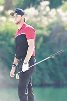 Thomas Pieters (BEL) on the 7th during the Pro-Am of the Abu Dhabi HSBC Championship 2020 at the Abu Dhabi Golf Club, Abu Dhabi, United Arab Emirates. 15/01/2020<br /> Picture: Golffile | Thos Caffrey<br /> <br /> <br /> All photo usage must carry mandatory copyright credit (© Golffile | Thos Caffrey)