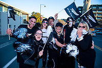 Fans arrive for the Rugby Championship match between the New Zealand All Blacks and Argentina Pumas at Trafalgar Park in Nelson, New Zealand on Saturday, 8 September 2018. Photo: Dave Lintott / lintottphoto.co.nz