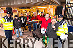 The Tralee Garda band and friends played in Tralee on Tuesday raising money for Tralee Diocesan Youth Service.