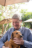 Daddy and Lola, Lunch at Axitla with the family in Tepoztlan, Morelos, Mexico