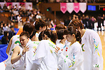 JXJX Sunflowers Team Group, MARCH 19, 2013 - Basketball : The 14th Women's Japan Basketball League Playoffs Final Game #4 between Toyota Antelopes 61-72 JX Sunflowers at 2nd Yoyogi Gymnasium, Tokyo, Japan. (Photo by AFLO SPORT) [1156]