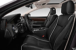 Front seat view of 2016 Jaguar XJ Premium Luxury 4 Door Sedan Front Seat  car photos