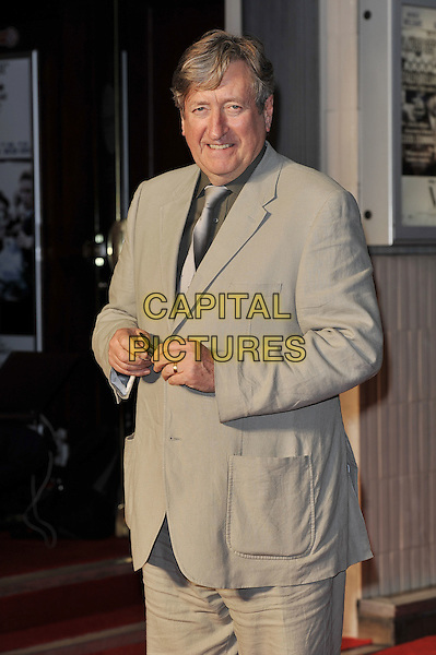 Philip Jackson.'My Week With Marilyn' UK Premiere, Cineworld, Haymarket, London, England. .20th November 2011.half length beige suit  .CAP/MAR.© Martin Harris/Capital Pictures.