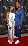 Simone Missick and Dorian Missick attends the 75th Annual Theatre World Awards at The Neil simon Theatre  on June 3, 2019  in New York City.