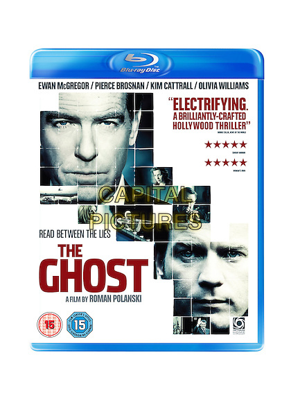 The Ghost (The Ghost Writer) <br /> BLU RAY COVER ART<br /> *Filmstill - Editorial Use Only*<br /> CAP/KFS<br /> Image supplied by Capital Pictures