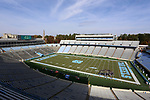 CHAPEL HILL, NC - NOVEMBER 18: A wide shot of Kenan Stadium before the game. The University of North Carolina Tar Heels hosted the Western Carolina University Catamounts on November 18, 2017 at Kenan Memorial Stadium in Chapel Hill, NC in a Division I College Football game. UNC won the game 65-10.