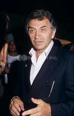American impresario and rock concert promoter, Bill Graham photographed circa 1990. © Scott Weiner /MediaPunch.