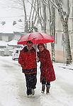 Temporal de nieve en la comunidad de Madrid. En la foto Navacerrada y Puerto de Navacerrada...(ALTERPHOTOS/Acero).