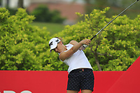 Austin Ernst (USA) in action on the 3rd during Round 2 of the HSBC Womens Champions 2018 at Sentosa Golf Club on the Friday 2nd March 2018.<br /> Picture:  Thos Caffrey / www.golffile.ie<br /> <br /> All photo usage must carry mandatory copyright credit (&copy; Golffile | Thos Caffrey)