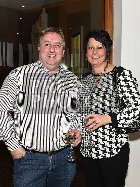 Stephen and Roslyn McErlean pictured at the Garth Brooks Experience at City North hotel. Photo:Colin Bell/pressphotos.ie